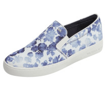 Slip On Sneaker mit Allover-Muster