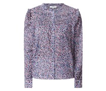 Bluse mit Allover-Muster Modell 'Livana'