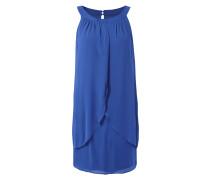 Kleid aus Chiffon in Wickeloptik