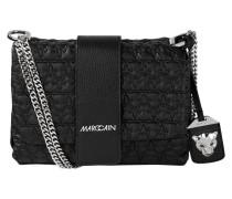 Crossbody Bag mit Details aus Leder