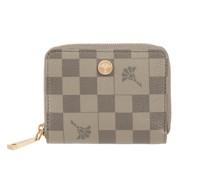 Portemonnaie mit Karomuster Modell 'Piazza' - RFID-blocking