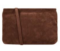 Crossbody Bag aus Veloursleder Modell 'Brenda'