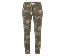 Sweatpants mit Camouflage-Muster