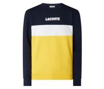 Sweatshirt mit Blockstreifen