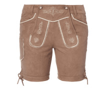 Shorts im Trachten-Look