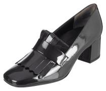 Loafer aus Lackleder mit Shoe Flaps