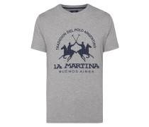 T-Shirt mit großem Logo-Print