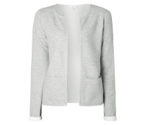 Blazer aus Sweat