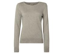 Pullover aus Wollmischung mit Kaschmir-Anteil