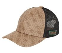 Cap mit Logo-Muster