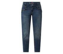 Cropped Jeans mit Stretch-Anteil Modell 'Florida'