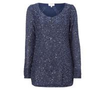 Pullover mit Pailletten-Besatz