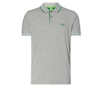 Slim Fit Poloshirt mit Kontraststreifen