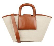 Strandtasche mit Kontrastbesatz Modell 'Amberley'