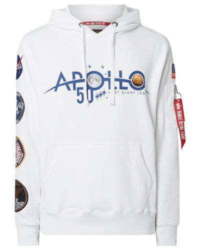Hoodie mit Apollo-Patches
