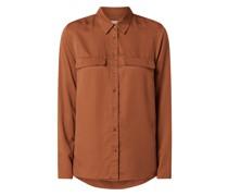 Bluse aus Lyocell Modell 'Taimeaa'