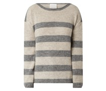 Pullover mit Streifenmuster Modell 'Anaa'
