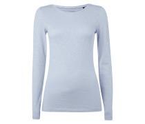 Slub Knit Shirt aus Baumwolle