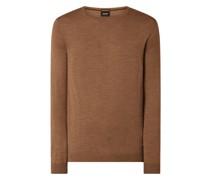 Pullover aus Merinowolle Modell 'Dannie'