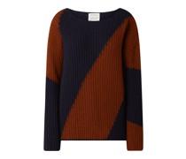Oversized Pullover mit Bio-Wolle Modell 'Saadie'