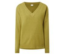 Oversized Pullover aus Viskosemischung Modell 'Ril'