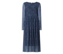Kleid mit Allover-Muster Modell 'Nufreja'