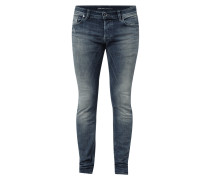 Used Look Slim-Skinny Fit Jeans
