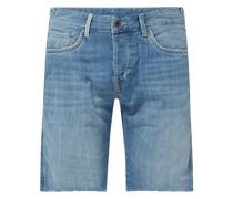 Jeansshorts aus Baumwolle Modell 'Stanley'