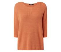 Oversized Pullover aus Bio-Baumwollmischung
