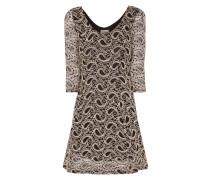 Jerseykleid aus Spitze mit Paisley-Details