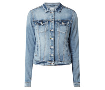 Jeansjacke im Washed Out Look Modell 'Show'