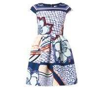 Kleid mit floralen Details