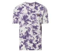 T-Shirt mit Allover-Muster Modell 'Sunburg'