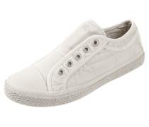 Slip-On Sneaker mit Sohle in Flechtoptik