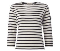 Sweatshirt aus Fair Trade Baumwolle mit Streifen-Dessin