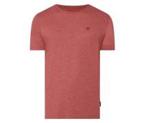 T-Shirt mit Logo-Aufnäher Modell 'Gavin'