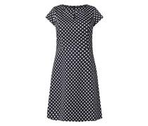 Kleid aus Scuba mit Polka Dots