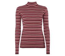 Shirt mit Gitter-Effekt