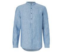 Tailored Fit Freizeithemd aus Leinen