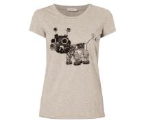 T-Shirt mit verschiedenen Schmuck-Details