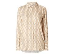 Bluse aus Viskose Modell 'Odetta'