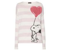 Pullover mit eingestricktem Peanuts©-Motiv