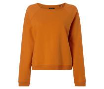 Sweatshirt mit seitlichem Reißverschluss