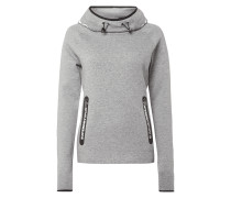 Hoody mit Tube Collar