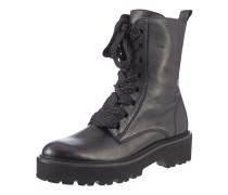 Boots aus Leder im Military-Look