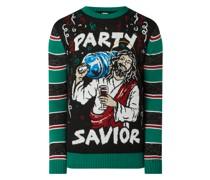 Pullover im Weihnachts-Look