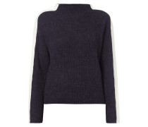 Pullover mit Zierstreifen an den Ärmeln