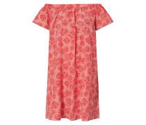 Off Shoulder Kleid aus Viskose