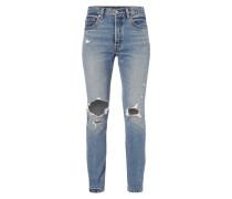5-Pocket-Jeans im Destroyed Look