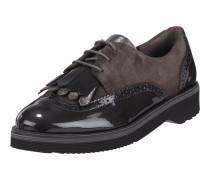 Lederschuhe mit Shoe Flaps und Lyralochung